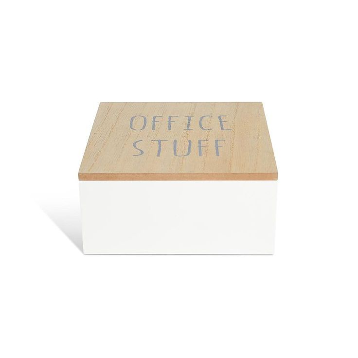 Box Stuff, L:16 x B:16 x H:6cm, natur