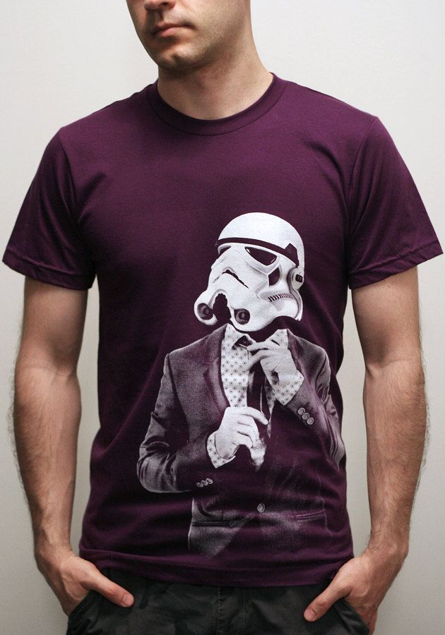 Smarttrooper - Mens t shirt / Unisex t shirt ( Star Wars / Stormtrooper t shirt ). $23.00, via Etsy.... AWESOME