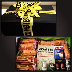 Zombie Survival Kit  I am so making the kids their own as Christmas presents!