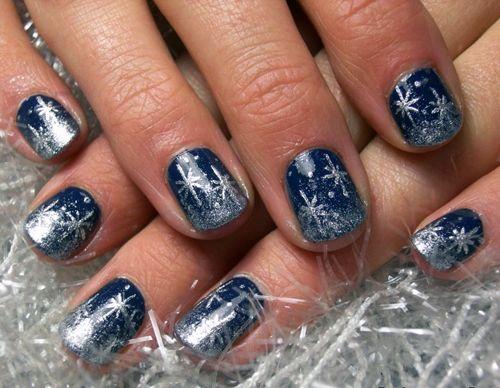 20 best snowflake nail art images on pinterest christmas nails beautiful snowflake nail art design for more ideas visit nailartbank prinsesfo Images