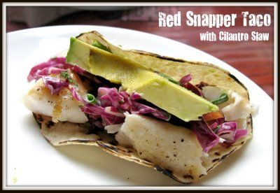 red snapper with cilantro garlic and lime recipes dishmaps red snapper ...