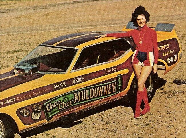 Shirley Muldowney Funny Car  heart like a wheel was good movie