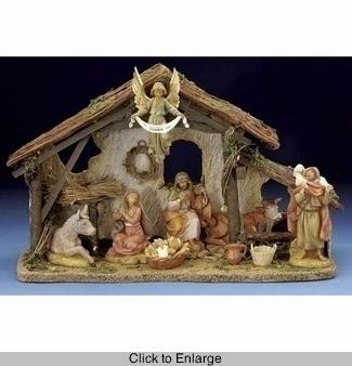 Fontanini Nativity Set, 5in Scale