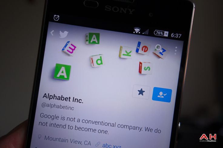 Alphabet: Earnings Will Be Reported As Google & Other Bets #Android #CES2016 #Google