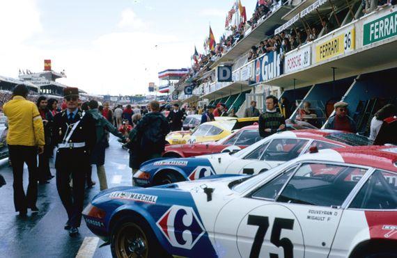 1972 LE MANS - Ferrari 365 GTB/4. Entrant: Charles Pozzi. Drivers: Francois Migault / Daniel Rouveyran. Placed: DNF.