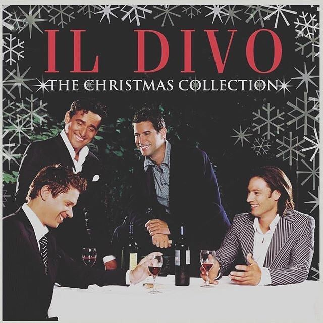 @nicolespickles 12 year old album but nothing gets me in the Christmas spirit like their unbelievable voices. Listening to them sing Ava Maria is MAGIC.  . . . #ildivo #ildivoofficial #ildivochristmascollection #ilisteneverychristmas #allchristmasseason #holidayspirit #christmasmusic #workingondecemberdaily #scrapbooking
