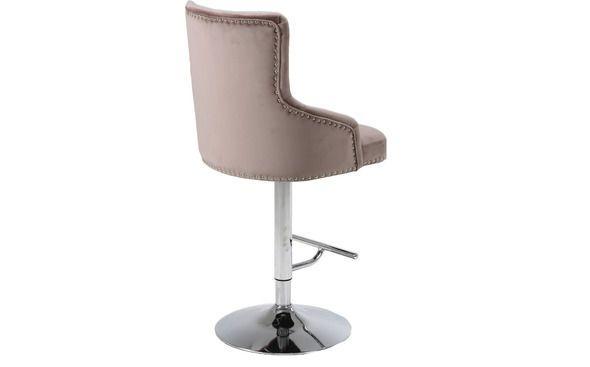 claude pink bar stool 709 meridian furniture bar tables