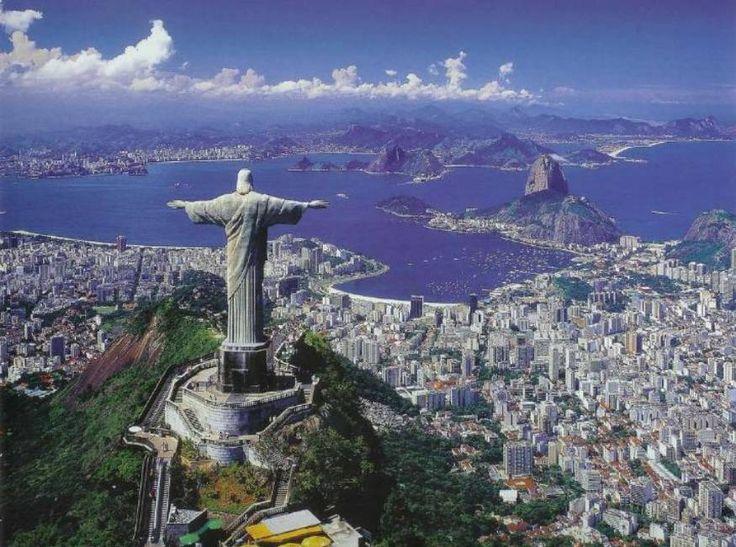 christ the redeemer-rio de janeiro, brazil.  beautiful.