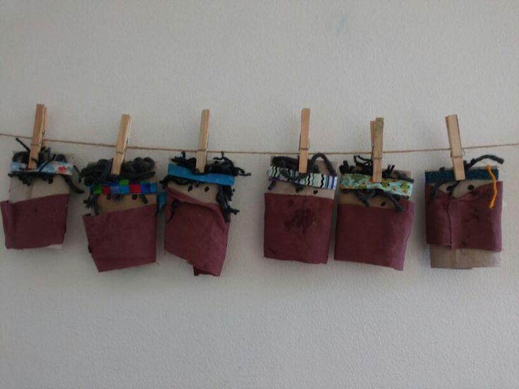 Mapuches. Creación de niños.