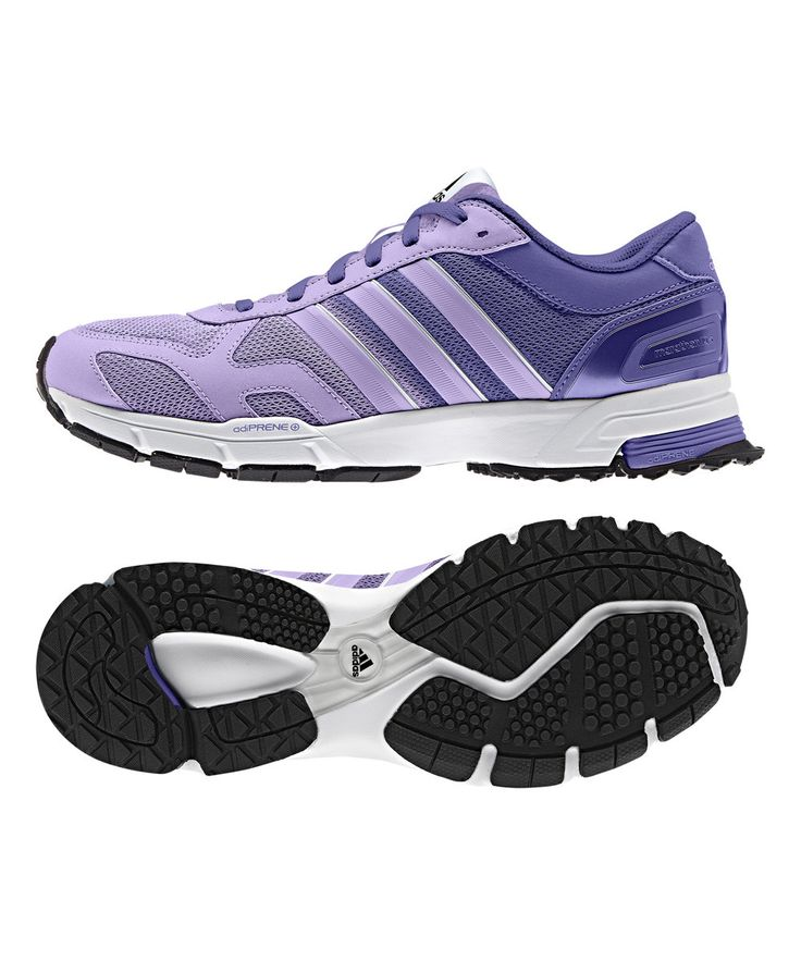 Look at this adidas Glow Purple Marathon 10 Running Shoe on #zulily today!