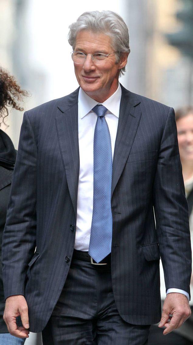 Richard Gere, es un hombre hermoso y realmente lleva muy bien sus 65 años