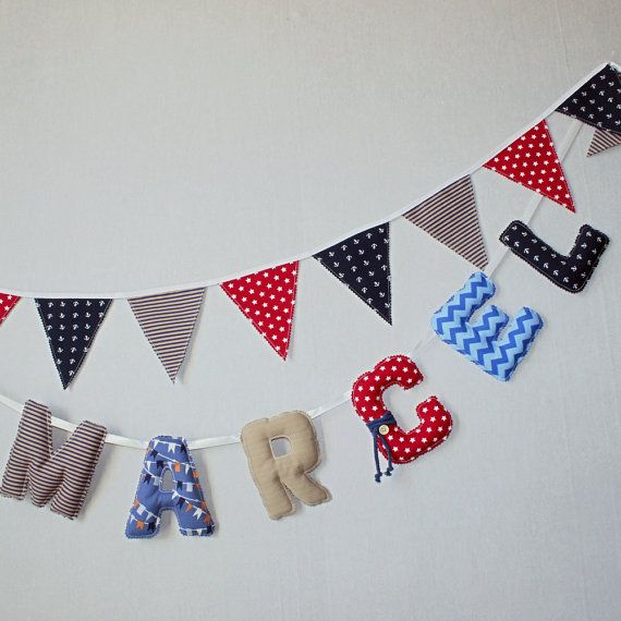 Baby Name Letters Deco , Name Boys Wall Art, Name Name Art Nursery, Baby  Shower Part 82