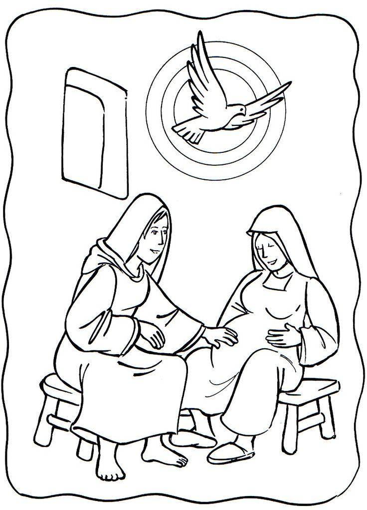 Luke 1:39-56: Mary Visited Elizabeth; Mary & Elizabeth