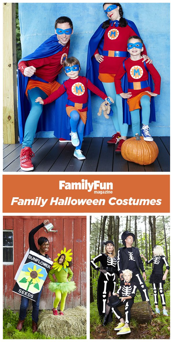 Group and Family Halloween Costumes: Make October 31 a fun family affair with incredible group Halloween costumes fit for a crowd.