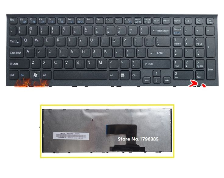 NEW US Keyboard For Sony VPC-EH VPCEH series  Laptop US Keyboard