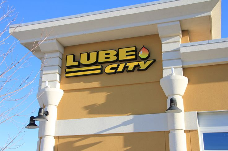 Lube City Store Front  http://www.lubecity.ca/