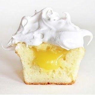 Fancy - Lemon Meringue cupcake recipe