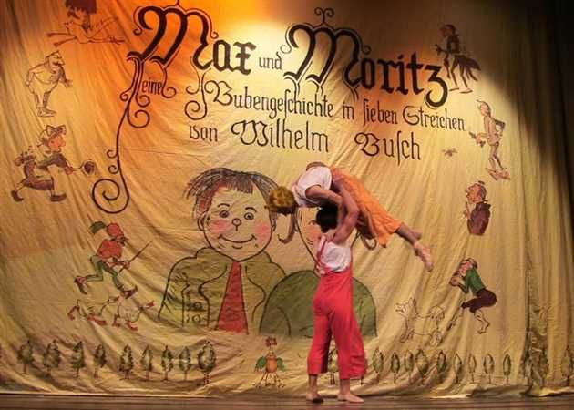 Sambata, 29  Aprilie incepand cu ora 19:00 sunteti asteptati sa vizionati spectacolul de balet Max si Moritz la Teatrul National de Opera si Balet Oleg Danovski