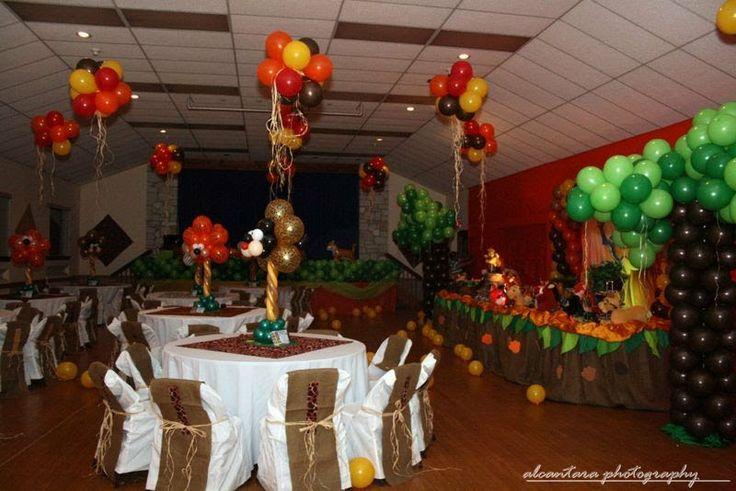 Lion king party decoration p a r t why pinterest
