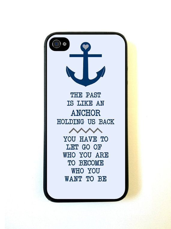 Anchor Nautical Quote iPhone 5c Case Fits iPhone 5c  by Crowdcrazy, $12.98