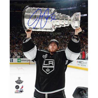 Jonathan Quick Signed Holding Stanley Cup Trophy 8x10 Photo  -  man cave memorabilia, man cave decor, man cave ideas, autographed memorabilia  -  www.ultimatemancaveshop.com