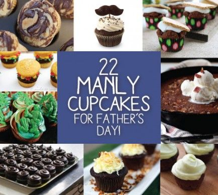 22 Manly Cupcakes for Father's Day