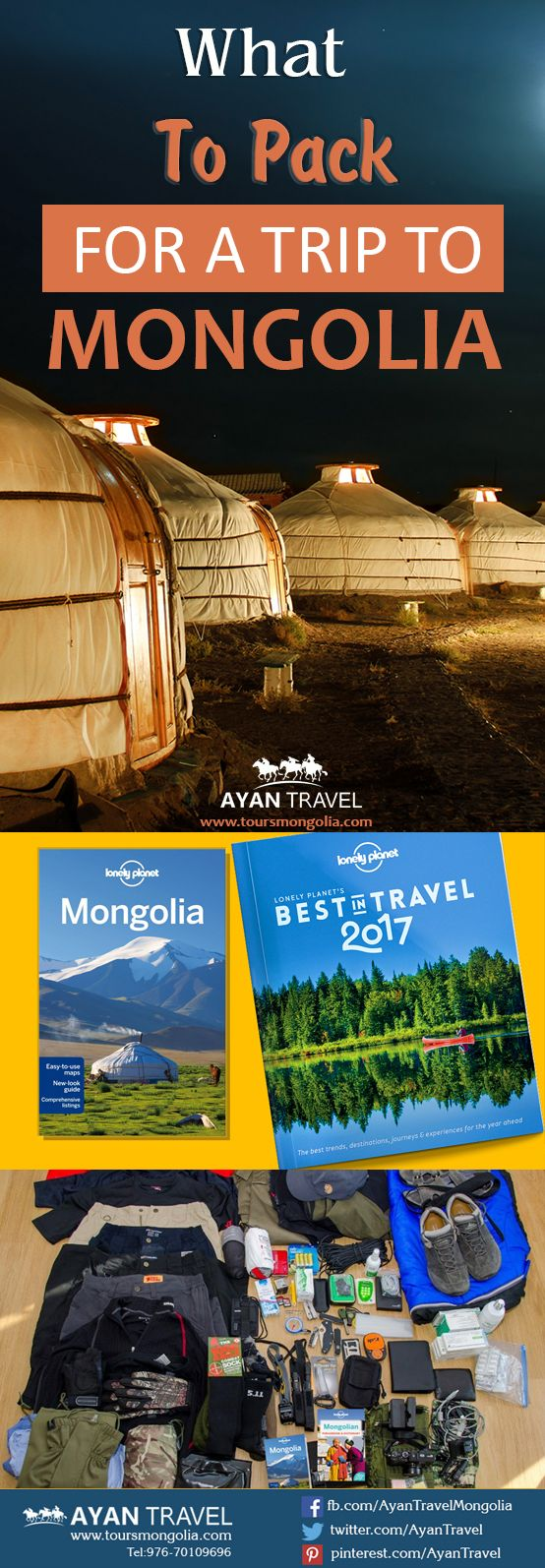 WHAT TO PACK FOR A TRIP TO MONGOLIA