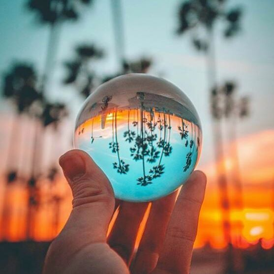 An undefinable mood visually captured within a gorgeous Lensball 🔮🌴 These Lensball images just keep getting more insane and we can hardly express how excited we are for the future of this project! 🙌 Original by @michaelste