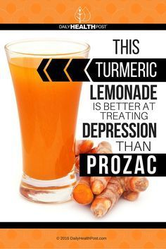 This Turmeric Lemonade Is Better At Treating Depression Than Prozac via <a…