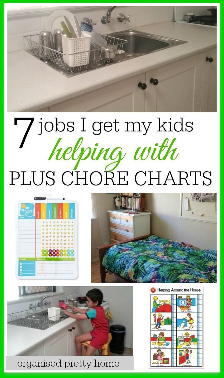 Get organized at home by the kids helping out with chores.  Check out what daily & weekly tasks my kids are learning to do for themselves. Bonus printable, editable or blank family chore chart ideas. by age | for teens | magnetic | template | childrens |