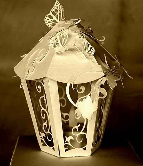 3D fancy table Lamp centerpeice by MySVGHUT on Etsy
