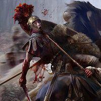 Promotional key artwork& loading screen prepared for Total War:Rome 2, Caesar in Gaul Campaign Pack