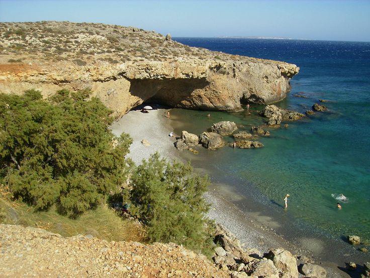 Staousa beach,Kalo Nero,southeastern Crete.