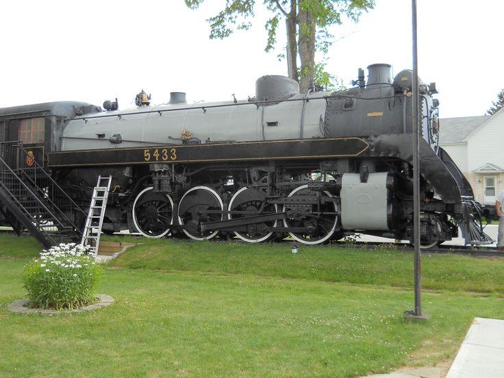 CP 5433 at Chapleau Rail Museum, Chapleau, Ontario.