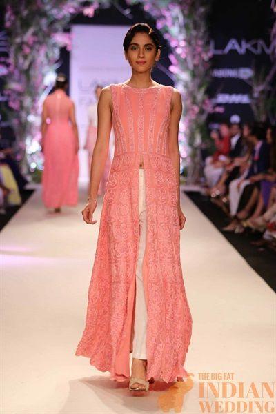 Manish Malhotra Sweet Spring Collection {Lakme Fashion Week 2014} - Gallery - TheBigFatIndianWedding.com