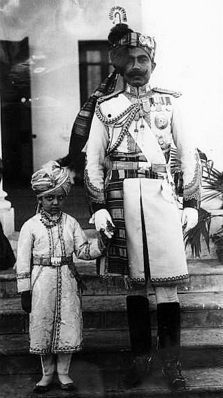 Maharaja Ganga Singh. He lived in a huge palace, Lalgarh, in Bikaner, which also contains the fourth largest private library in the world. The royal family still lives in part of the palace and there are parts of the palace that are hotels now.