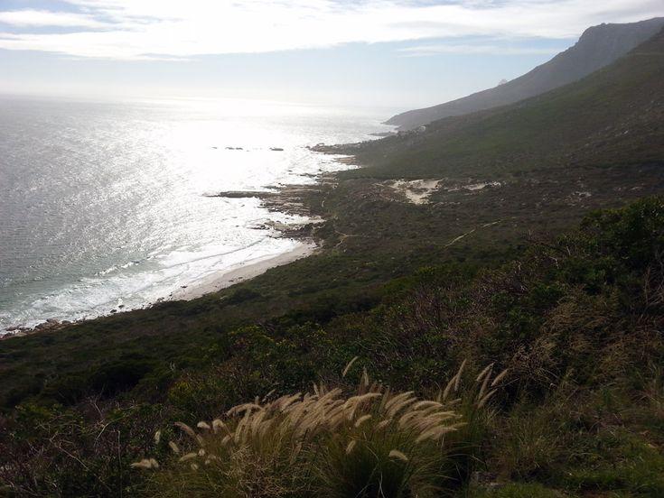 Hike above Sandy Bay back to Llandudno