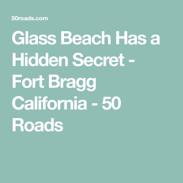 Glass Beach Has a Hidden Secret - Fort Bragg California - 50 Roads