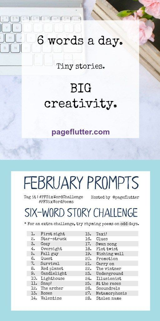 short story ideas - personal creative writing challenges