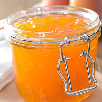 Peach & Amaretto Jam