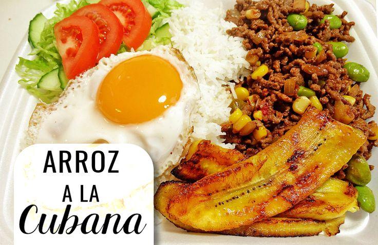 """Een Caribische klassieker, namelijk """"arroz a la Cubana"""". Met Cubaanse roots kun je eigenlijk niet fout gaan. Deze maaltijd bestaat uit gebakken rijst met groenten, bakbananen en een spiegelei. Makkelijk, maar vooral héél lekker! Het volgende recept is voor 4 personen. Ingrediënten: 3eetlepels zonnebloemolie 1 teentje knoflook, gehakt 1 laurierblaadje 250 grgehakt 1 ui, gesnipperd …"""