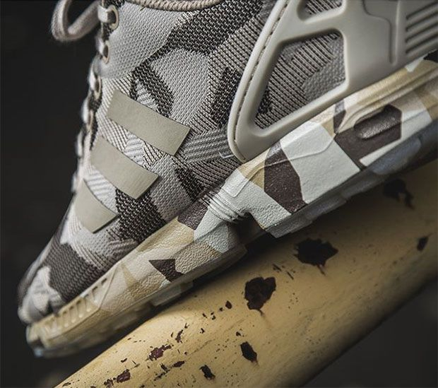 The adidas ZX Flux Gets Its Most Intense Camo Makeover Yet - SneakerNews.com