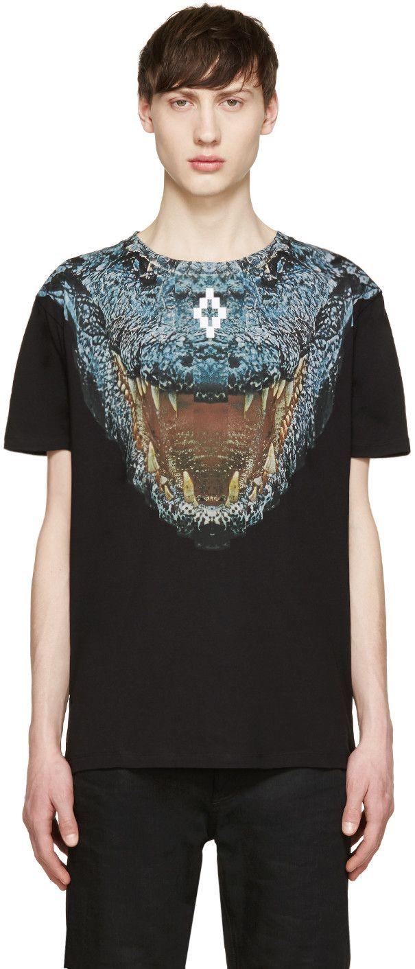 Marcelo Burlon County of Milan Black Recoleta T-Shirt