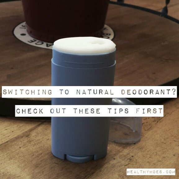 Having issues switching to natural deodorant? Check out these tips and tricks.