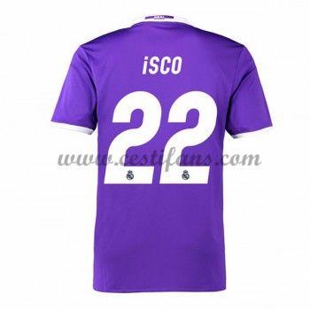 Real Madrid Fotbalové Dresy 2016-17 Isco 22 Venkovní Dres