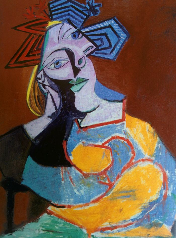 Picasso and Spanish Modernity - Woman Resting on Elbows, 1939