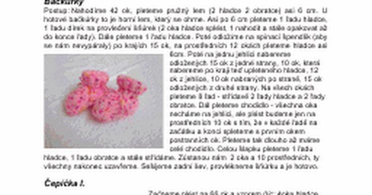 """Návody na pletení  Děťátka narozená předčasně jsou """"dlouhá"""" od 28cm až po necelých 50cm. Miminka narozená okolo 24. týdne těhotenství měří někdy i méně než 28cm. Při propuštění z nemocnice mívá většina takovýchto miminek velikost stejnou jako panenky Babyborn a Chouchou - cca 42 cm. Miminka, kt..."""