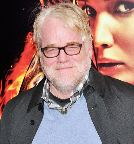 Philip Seymour Hoffman on November 20, 2013 in New York City,  Secommed to his heroine addiction.  So talented, such a waste.