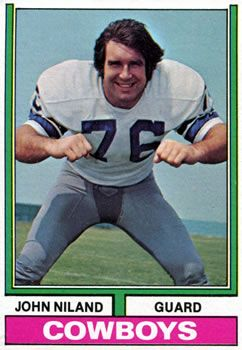 Top 50 Dallas Cowboys of All Time - No. 28: John Niland (OG, 1966-1974) #Dallas #Cowboys #NFL #DallasCowboys #CowboyNation #HowBoutThemCowboys