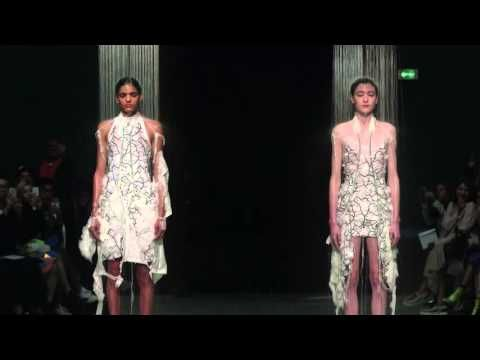 Behind the Scenes with Hussein Chalayan and his Spring/Summer 2016 Collection - YouTube